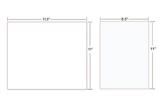 cut sheet paper