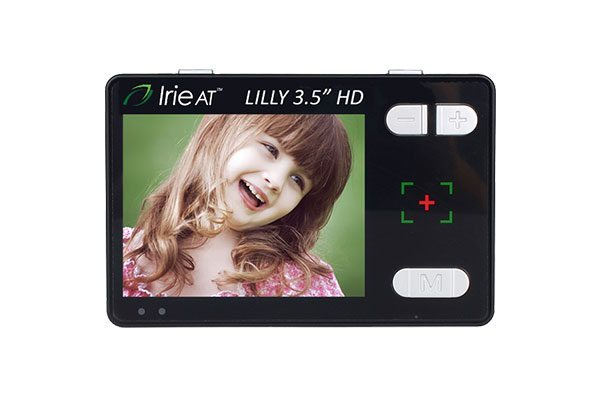 "Lilly 3.5"" HD handheld video magnifier"