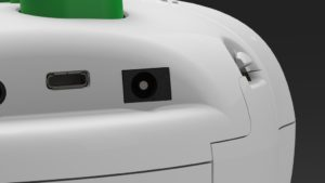 6dot braille labeler power port