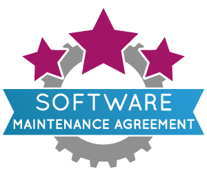 Software maintenance agreement for organizations logo